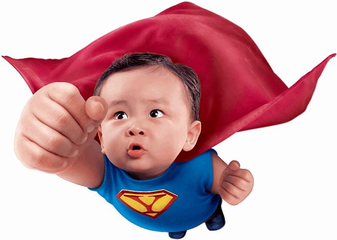 zvýšení povědomí superkid