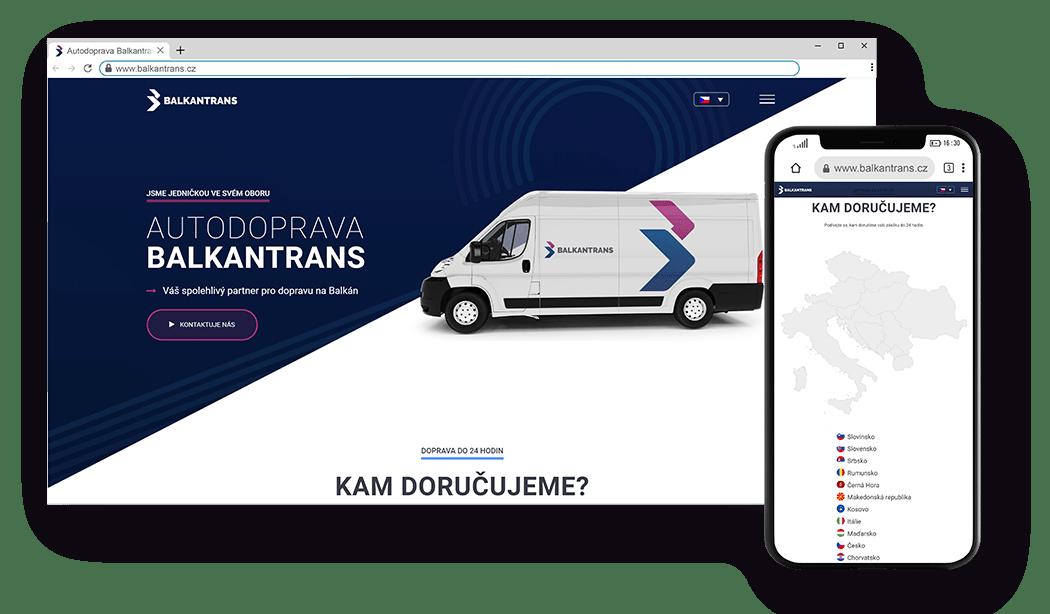 Responsive website redesign